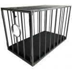 Playroom - Cage métal BDSM pour esclave / doggy démontable