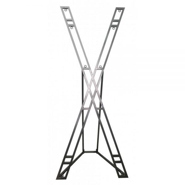 Playroom - Croix de Sain André en métal