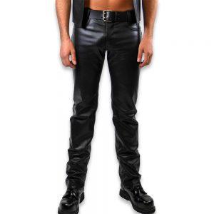 Cuir - Une production Rex - Jeans en cuir de cheval