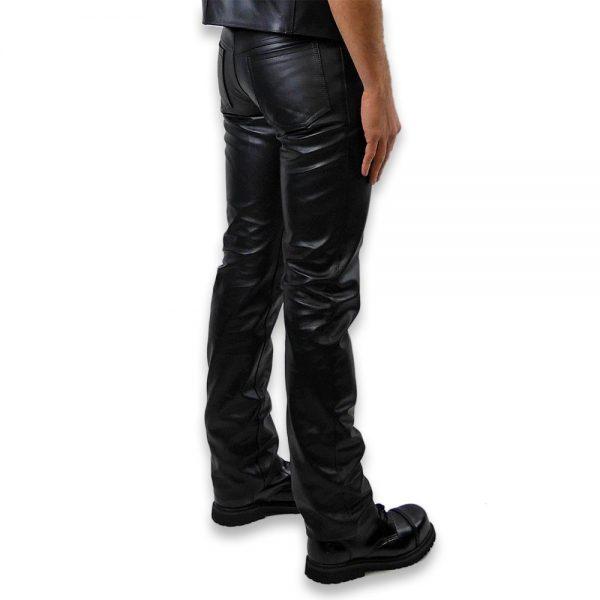 Cuir - Une production Rex - Jeans en cuir de cheval - Arrière
