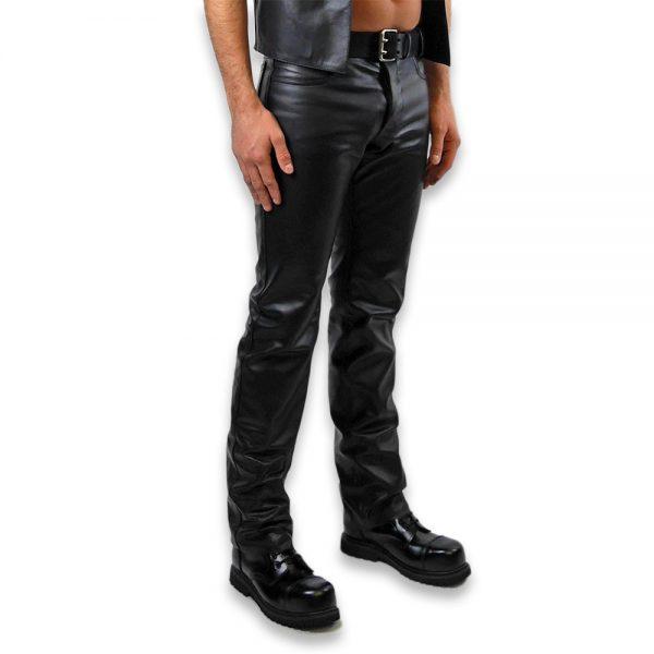 Cuir - Une production Rex - Jeans en cuir de cheval - Profil