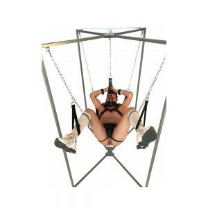 Playroom - Support de sling métal - Installation complète