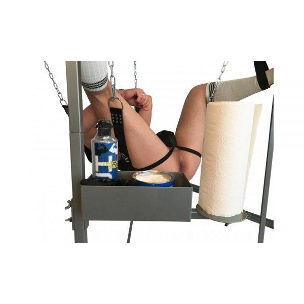 Playroom - Tablette pour notre support de sling métal - Accrochée, en situation