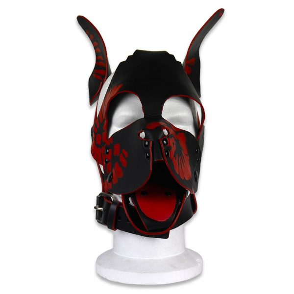 Cuir - Une production Rex - Tête de chien cuir, motif
