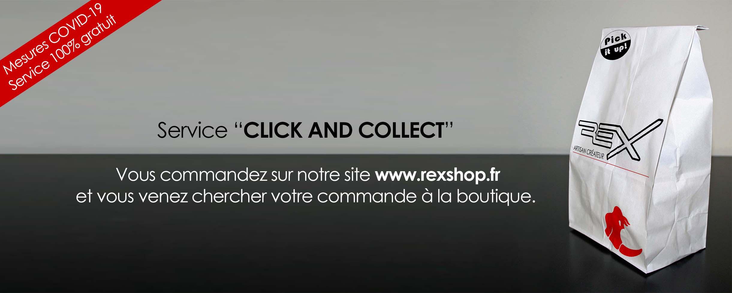 Click & Collect : récupérez votre commande en toute sécurité