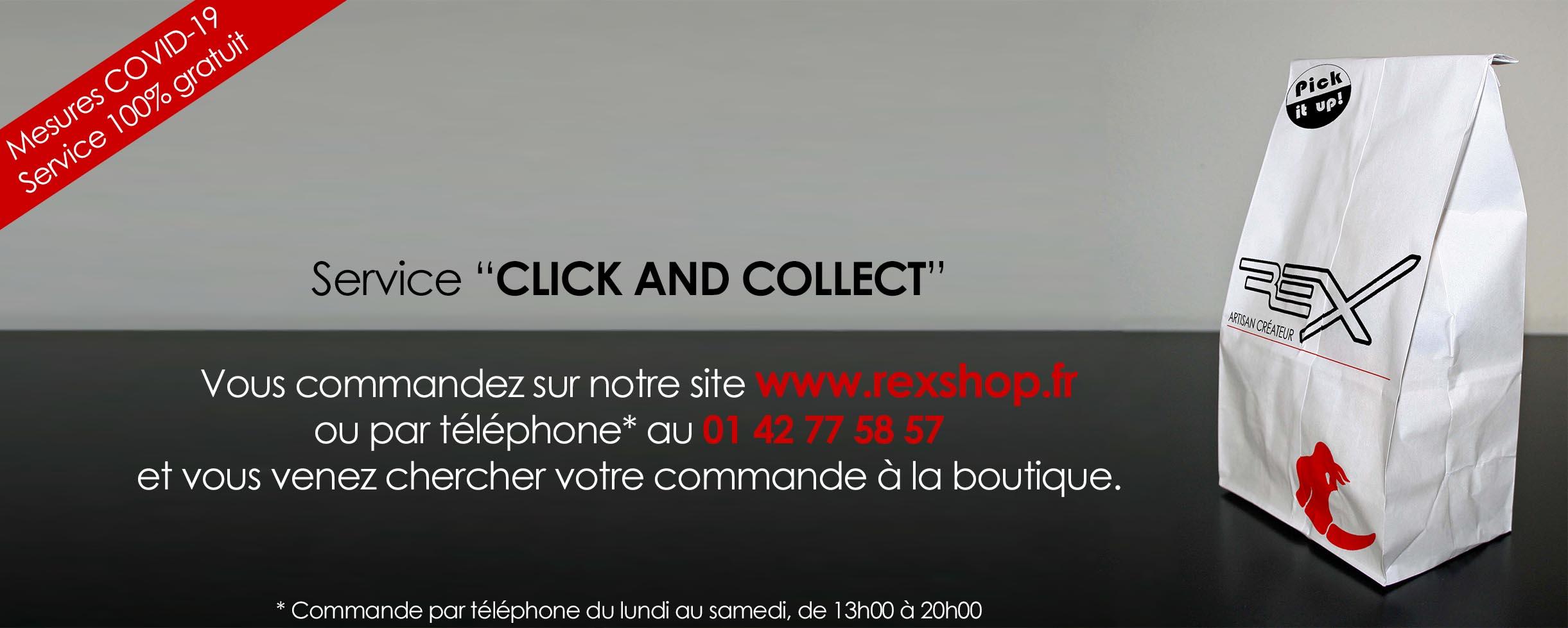 Click & collect : faites vous plaisir pendant le confinement