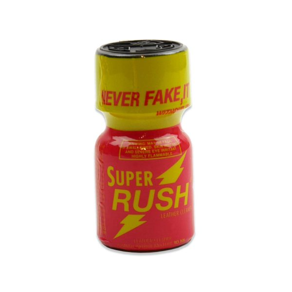 consommables - poppers - super rush rouge
