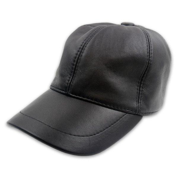 accessoire-casquette cuir baseball